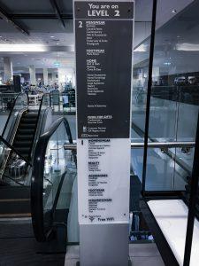 David Jones Store opening - wayfinding systems