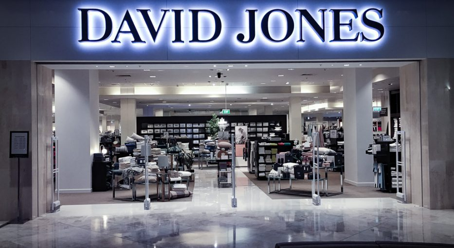 David Jones Store opening - wayfinding systems